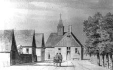 Den Ouden Sluys 29 juli 1744. Getekend door H. de Winter.